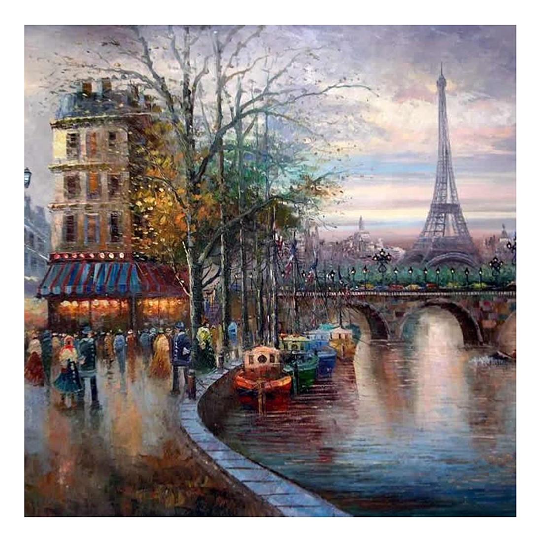 Ölgemälde Die Seine – Größe 50 x 50 cm, yourPainting bestellen
