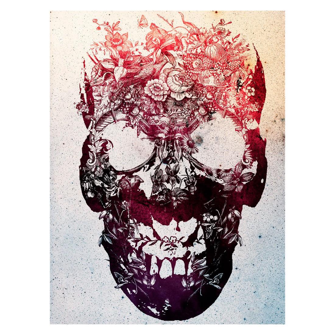 Ölgemälde Floral Skull von Ali Gulec – Größe 60 x 40 cm, yourPainting jetzt bestellen
