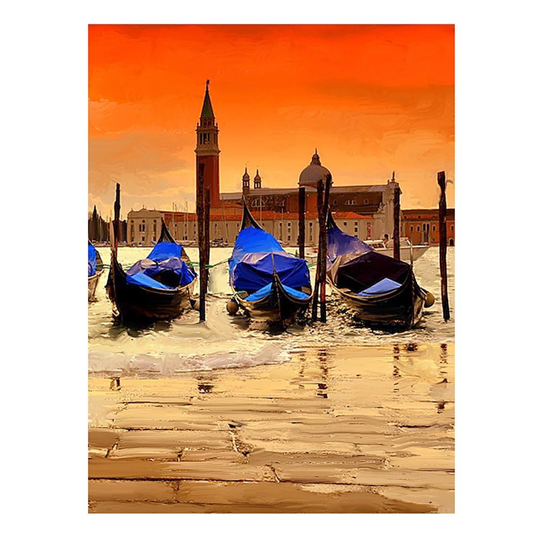 Ölgemälde Gondolas awaiting – Größe 100 x 70 cm, yourPainting online kaufen