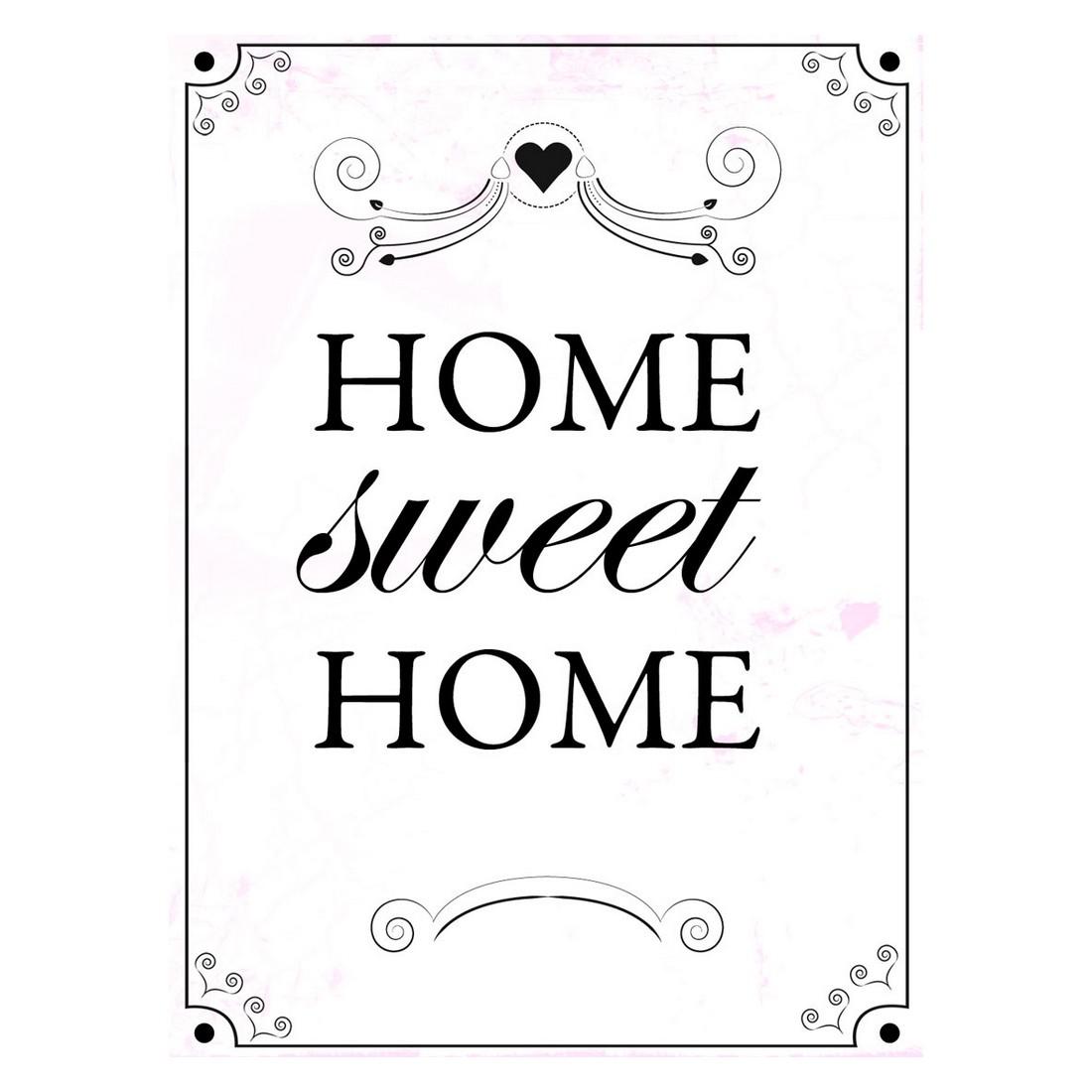 Ölgemälde Home sweet home I – Größe 40 x 30 cm, yourPainting günstig kaufen