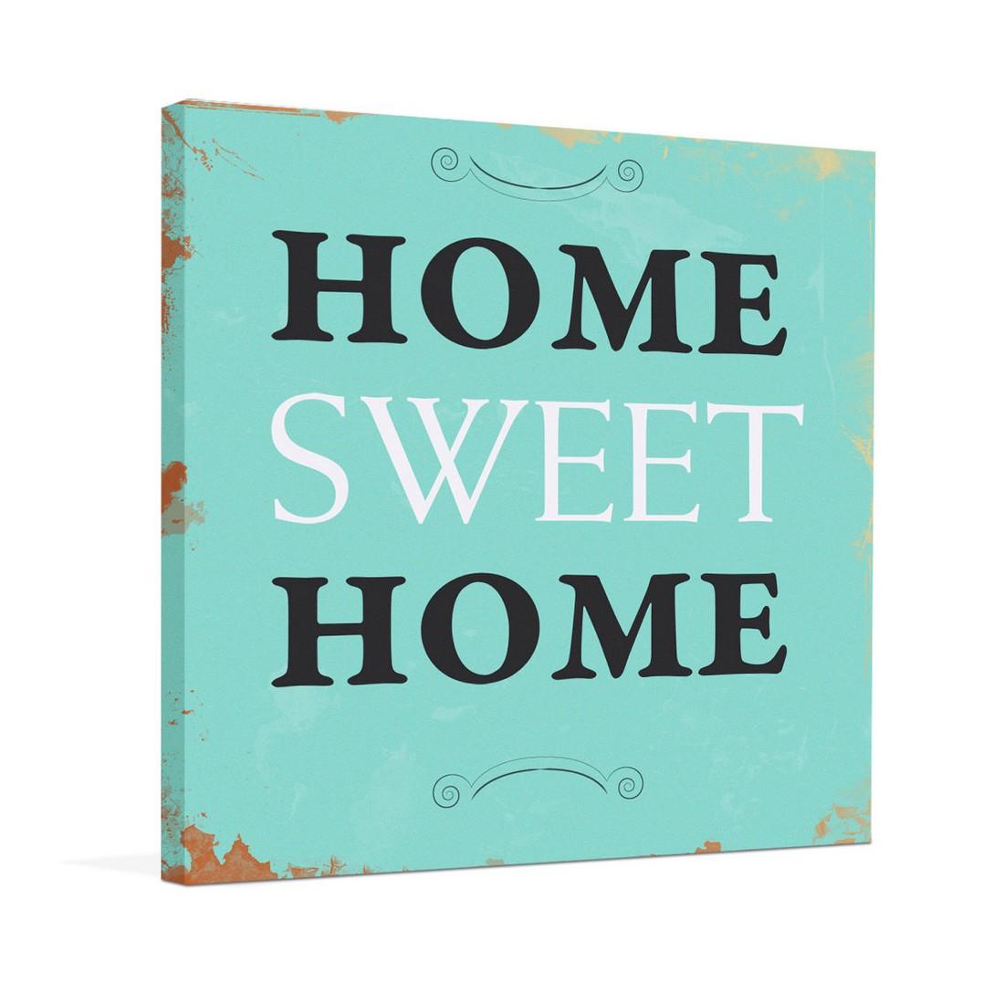 Ölgemälde Home sweet home II – Größe 50 x 50 cm, yourPainting günstig online kaufen