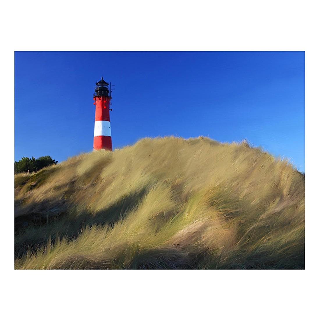 Ölgemälde Leuchtturm hinter der Düne von Frank Herrmann – Größe 60 x 80 cm, yourPainting online kaufen