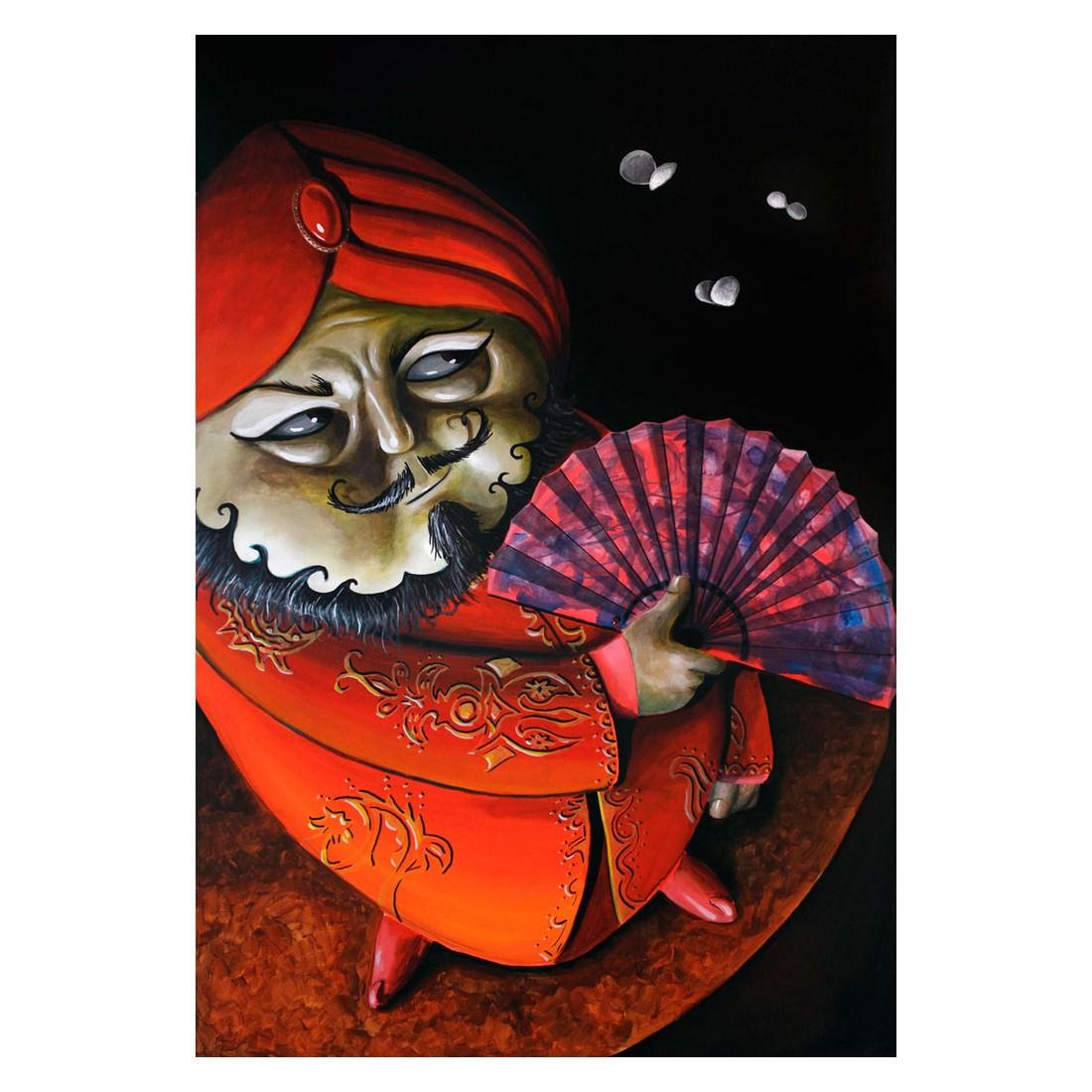 Ölgemälde Mystic Asia von Fabrini Crisci – Größe 80 x 60 cm, yourPainting bestellen