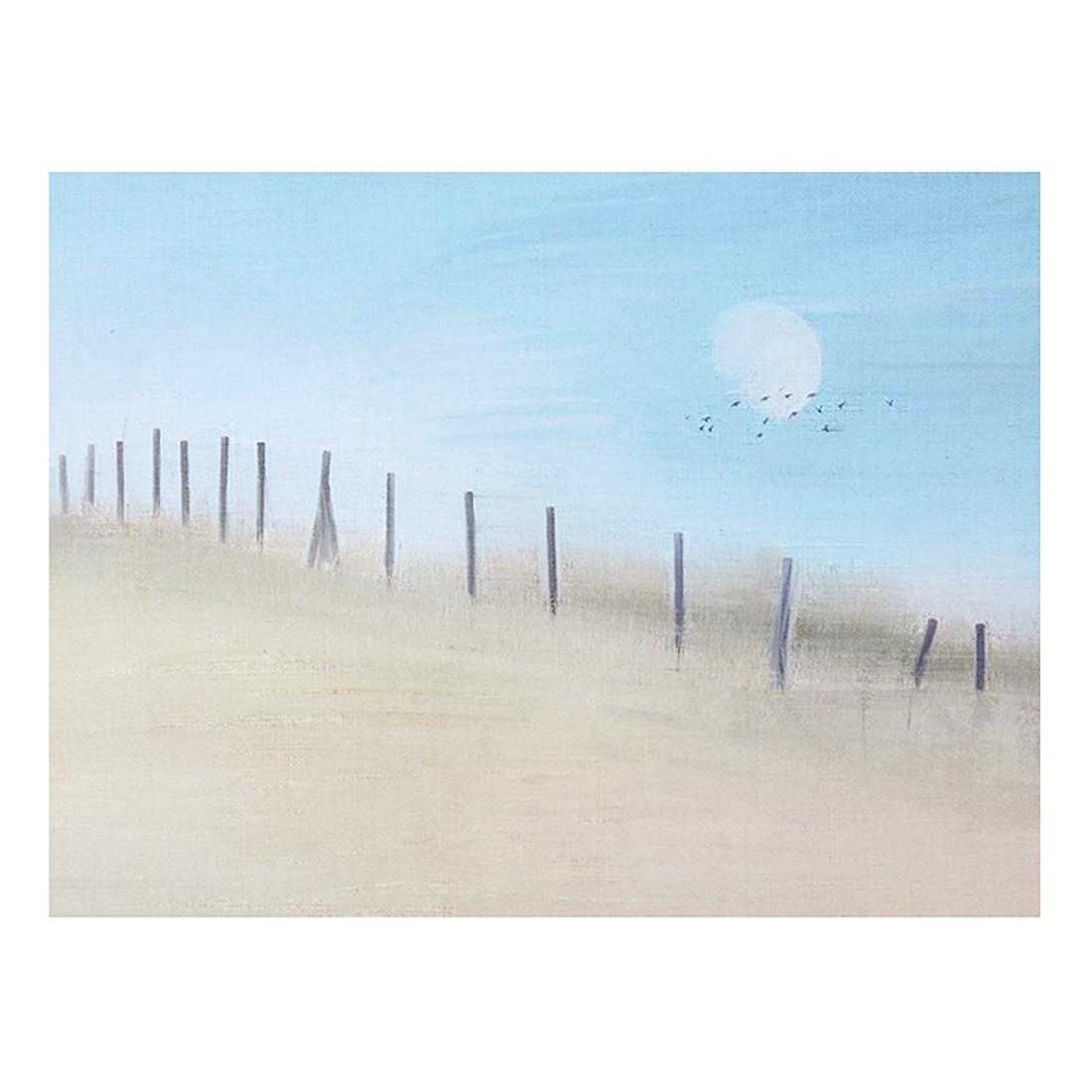 Ölgemälde Zaunbild von Franziska Rullert – Größe 70 x 100 cm, yourPainting online bestellen