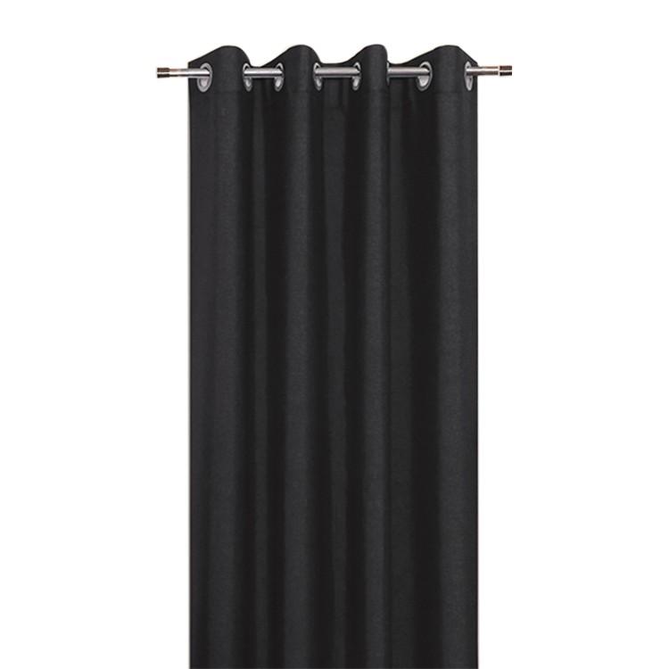 Ösenschal REA schwarz 140×235 cm, Home24Deko günstig online kaufen