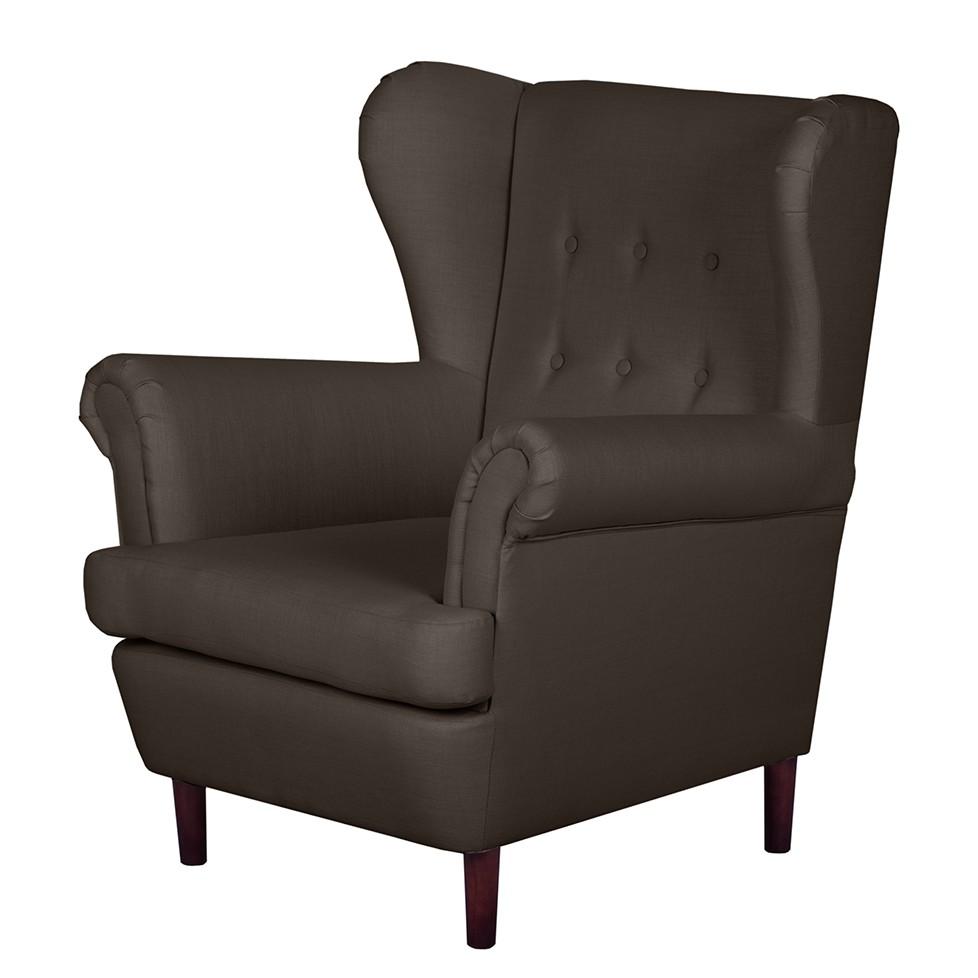 ohrensessel kaiapoi i webstoff mokka jack alice g nstig. Black Bedroom Furniture Sets. Home Design Ideas