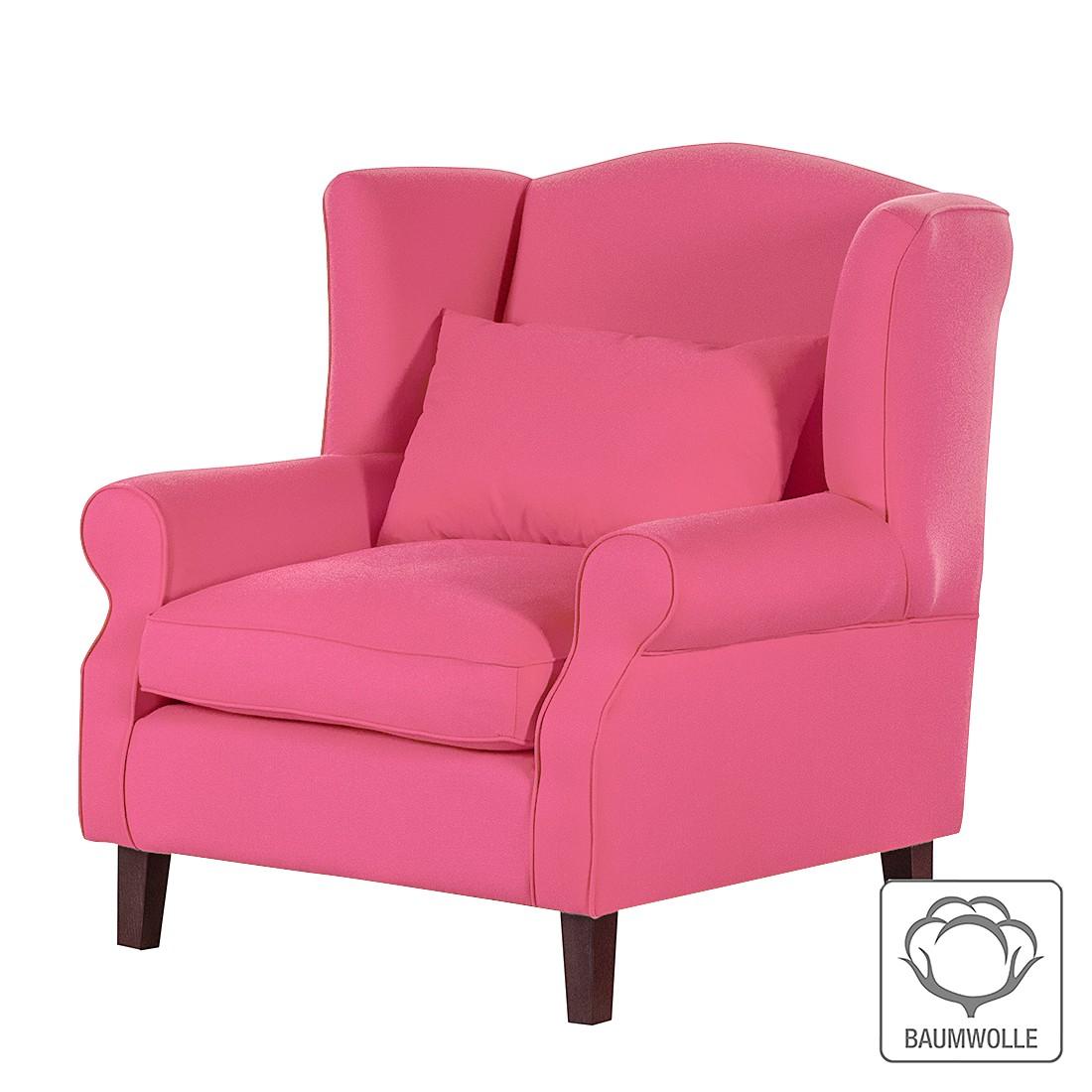 Ohrensessel Sofia – Baumwollstoff Pink, Maison Belfort jetzt bestellen