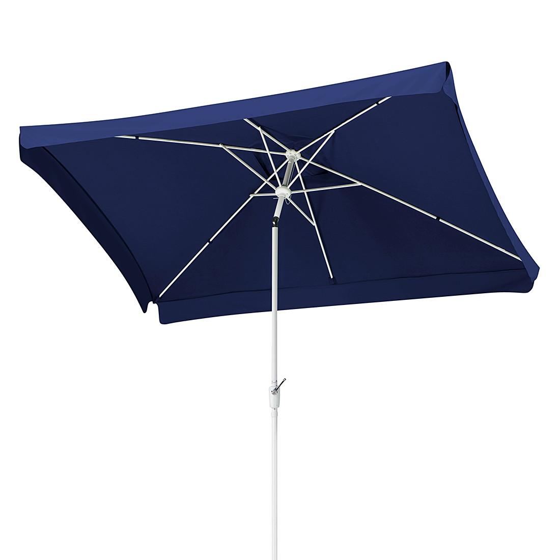 Oslo 200x300 Sonnenschirm - Aluminium/Polyester - Weiß/Blau, Schneider Schirme