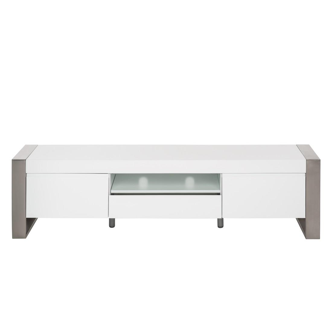 TV-Lowboard Oslo – Hochglanz Weiß, loftscape jetzt bestellen