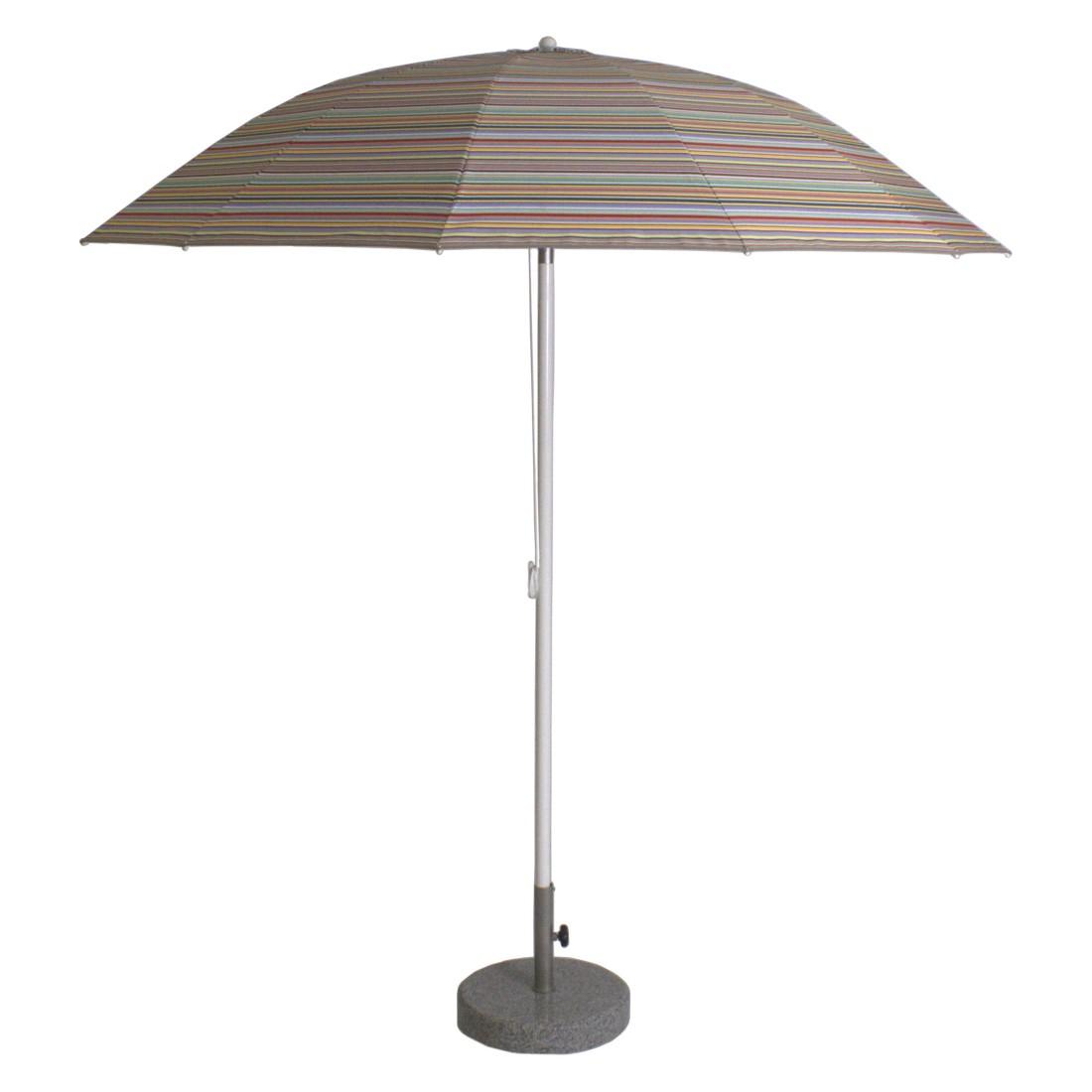 Sonnenschirm Pagodenschirm mit Knickgelenk - Aluminium Multicolor Mini, Weishäupl Werkstätten