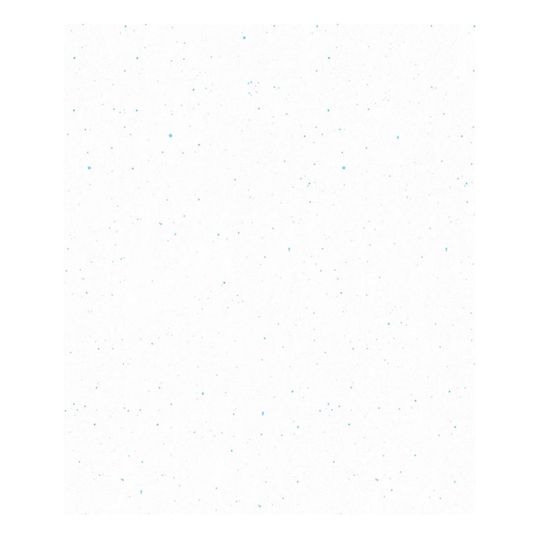 Papiertapete Biene Maya – weiß – pastellblau – fein strukturiert, Home24Deko kaufen