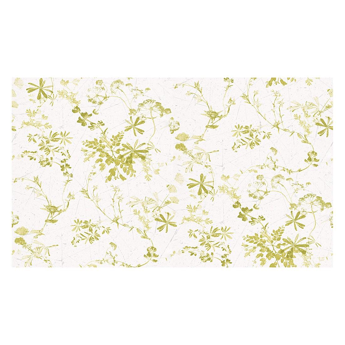 Papiertapete Brigitte – verkehrsweiß, hellgelbgrün – fein strukturiert, Brigitte Home kaufen