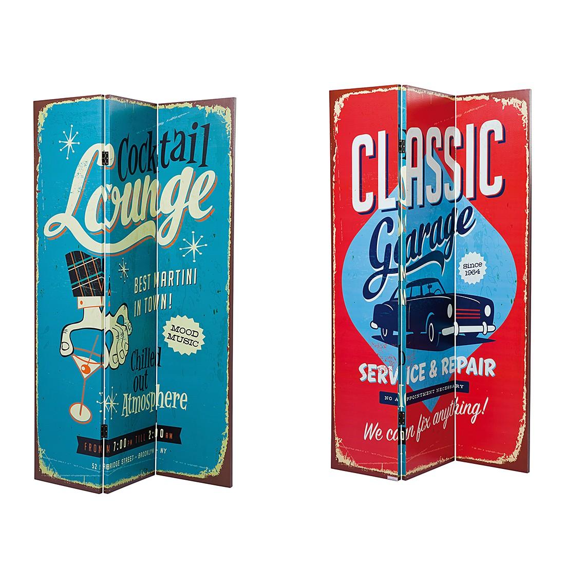 Paravent Cocktail Garage, Kare Design online kaufen