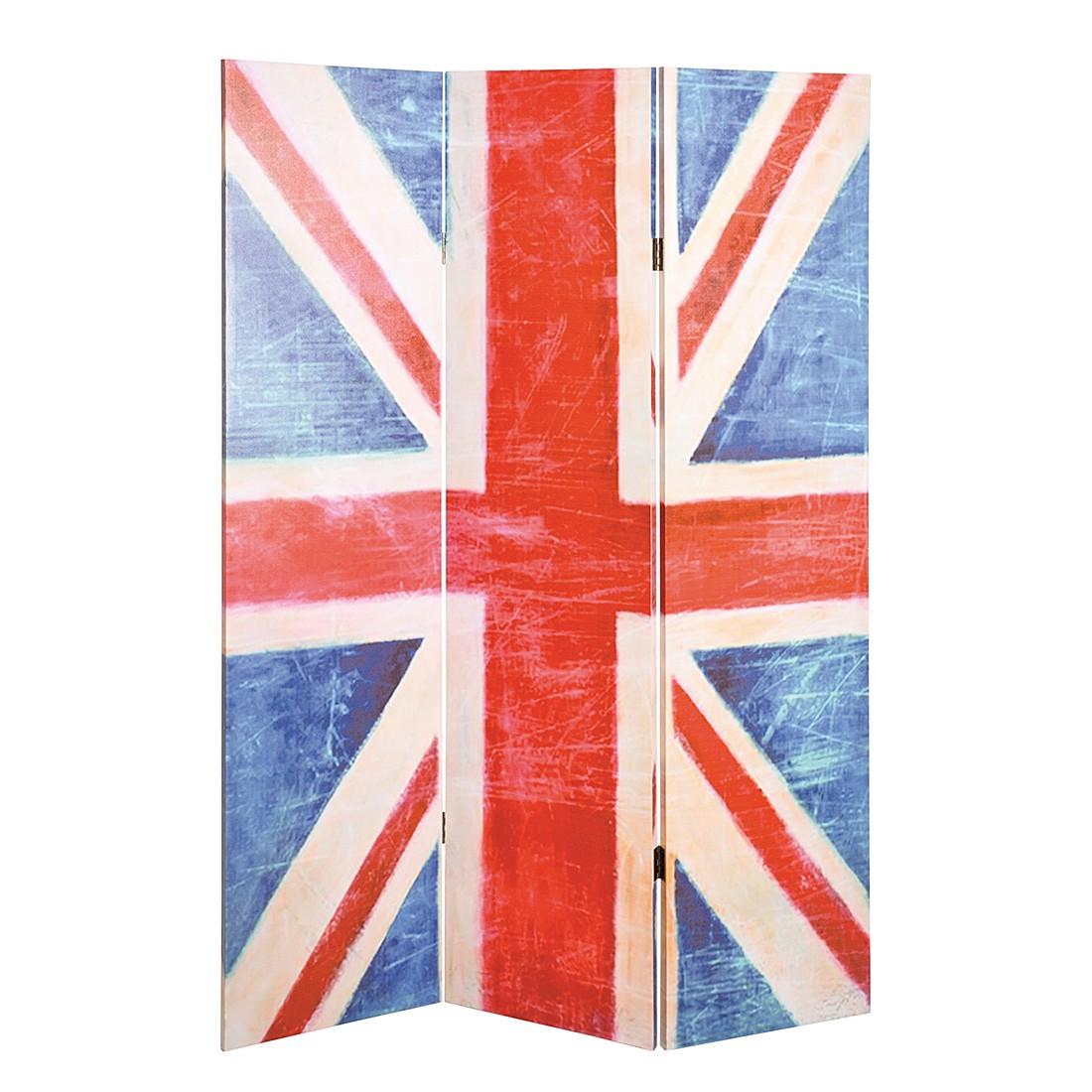 Paravent Great Britain – Weiß/Rot/Blau, Home Design jetzt kaufen