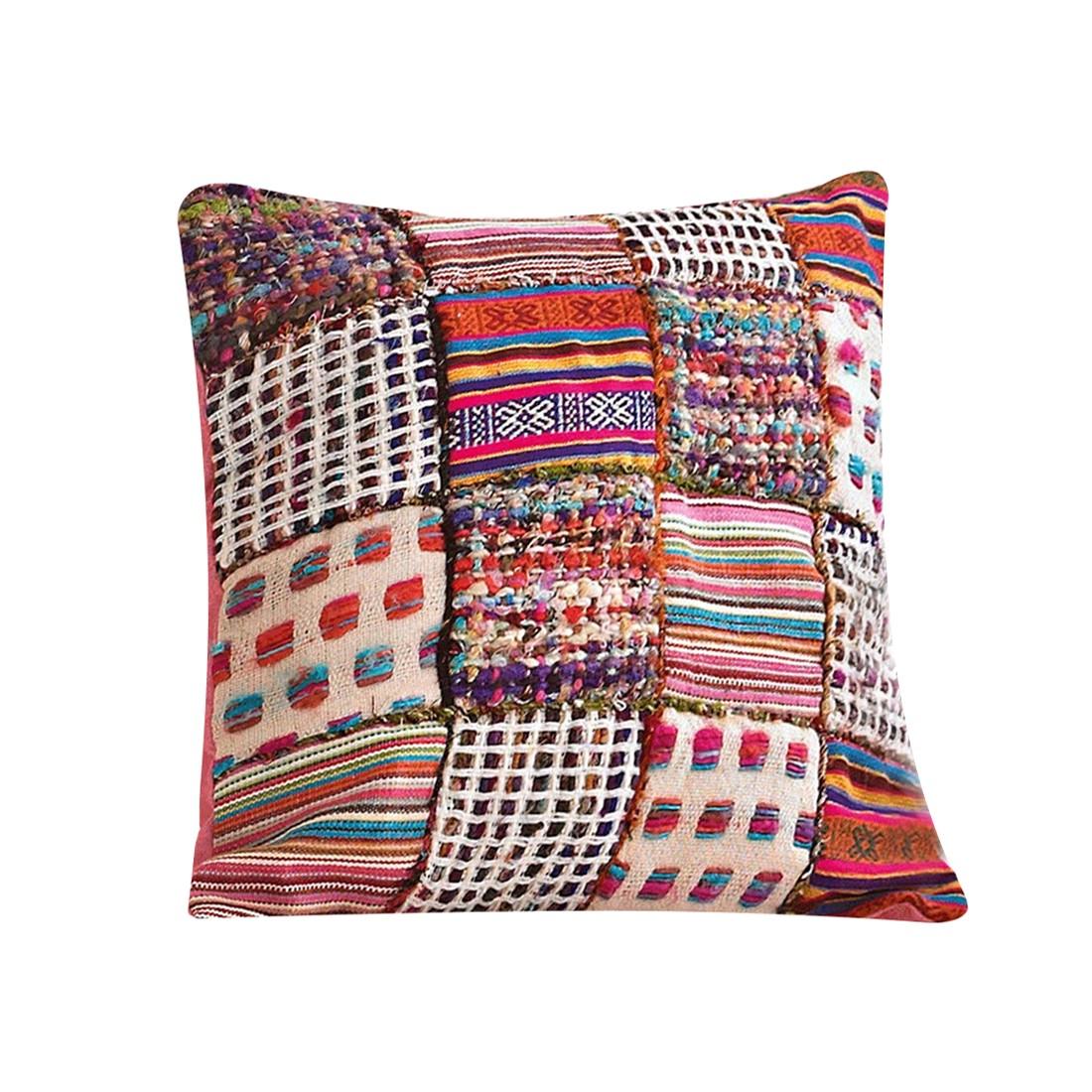 Patchwork-Kissenhülle – Viskose/Baumwolle – Bunt, PureDay online bestellen