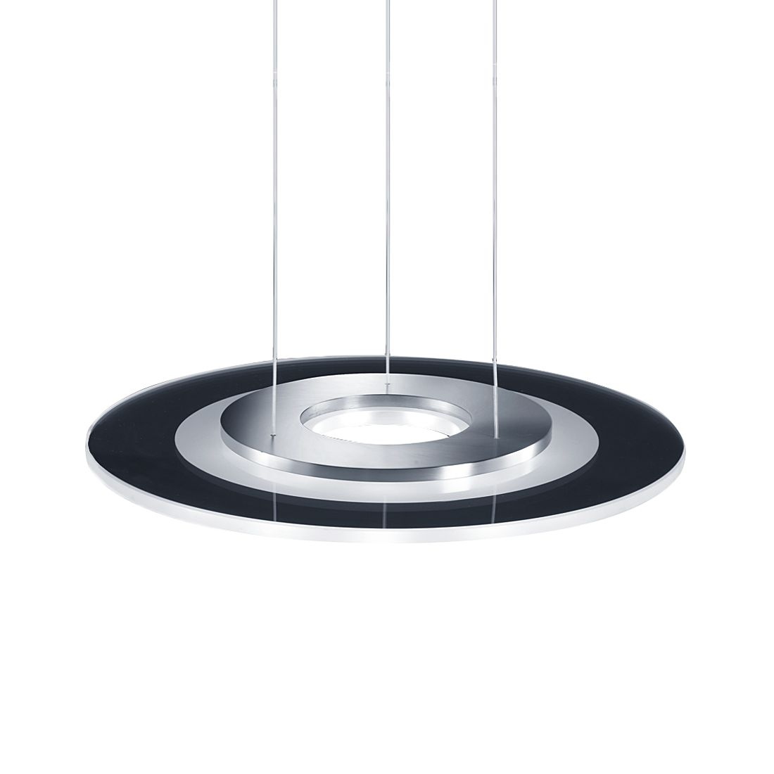 Pendelleuchte ALIDE – Metall/Glas – 9-flammig, Helestra günstig bestellen