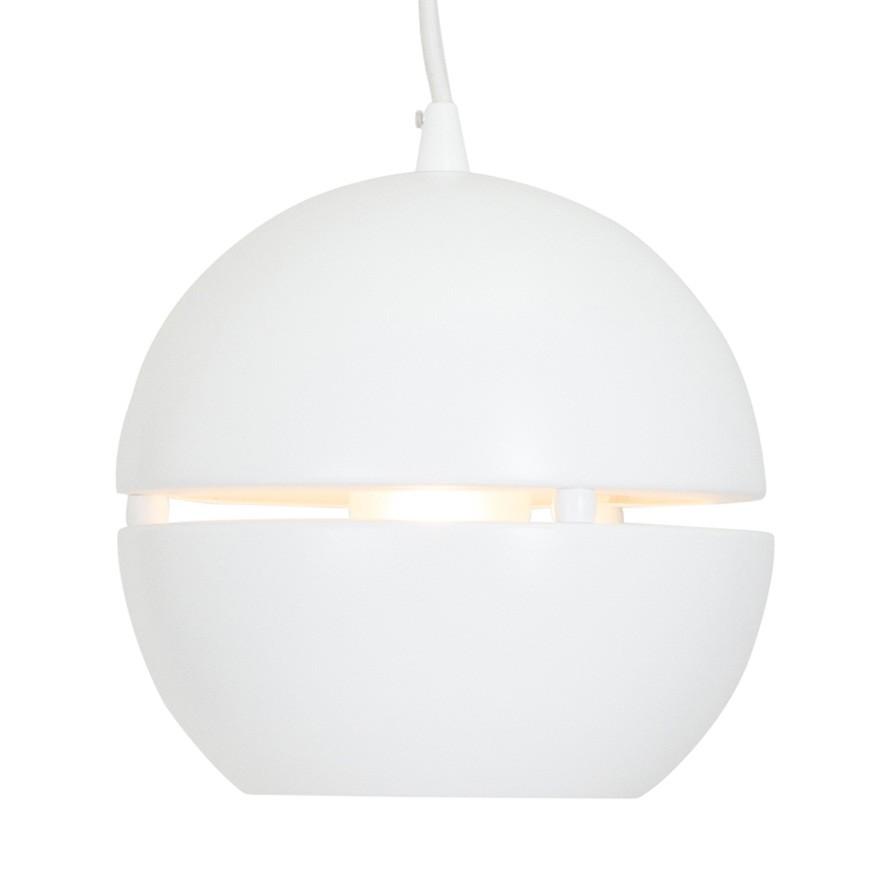 Pendelleuchte Bol Aluminium Weiß ● 1-flammig- Steinhauer A++