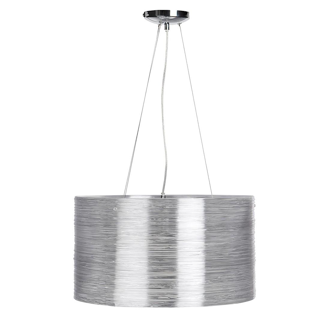EEK A++, Pendelleuchte Bright - Silber - 3-flammig, Sompex