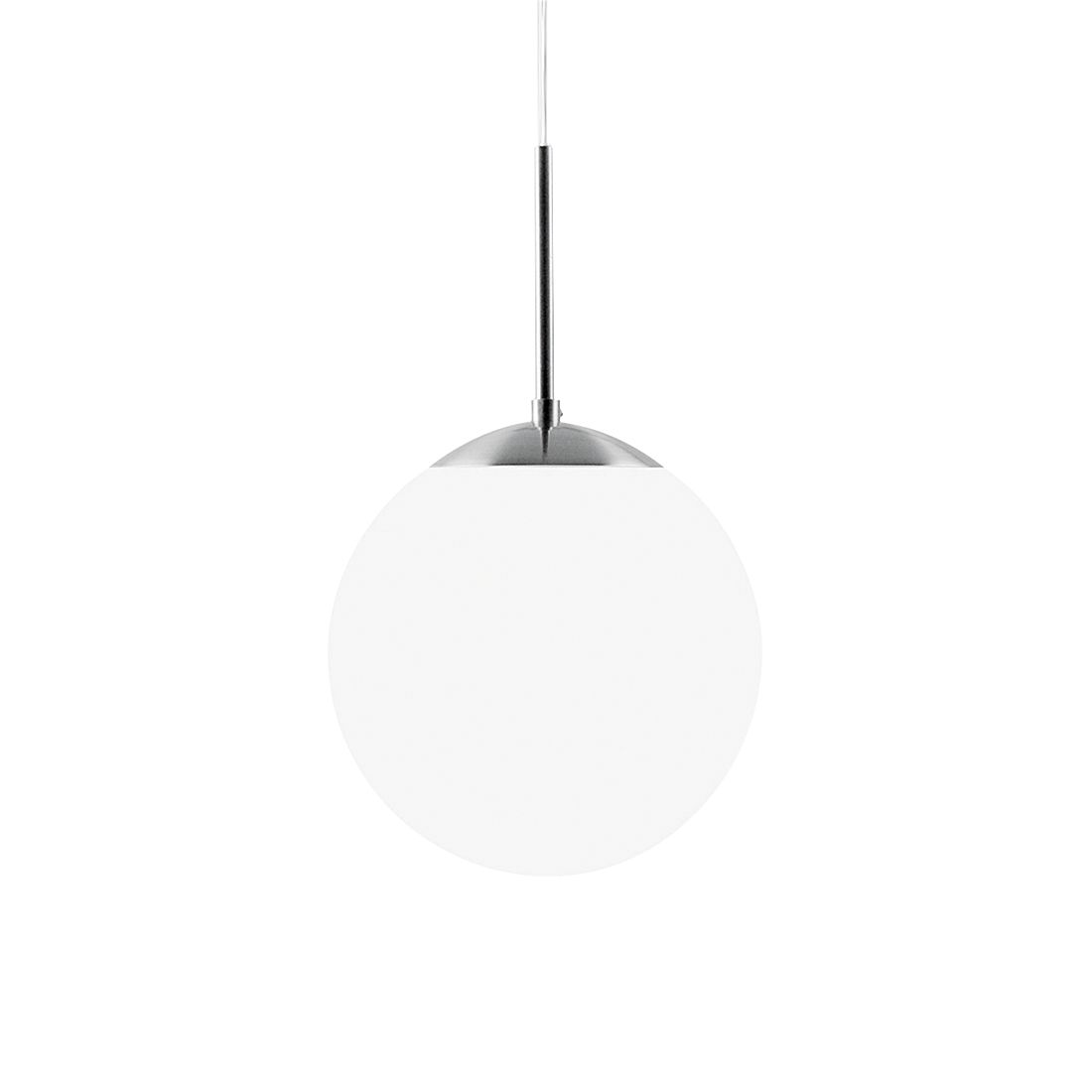 Pendelleuchte Cafe ● Metall/Glas ● Silber/OpalWeiß ● 15- Nordlux A++