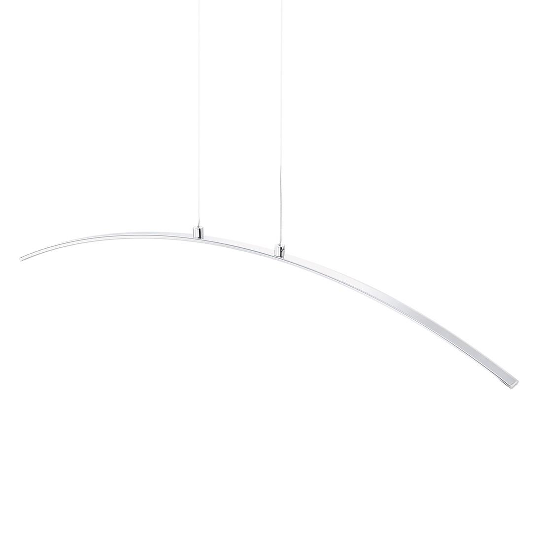 LED-Pendelleuchte Chromo by Leuchten Direkt ● Eisen ● Silber- Leuchten Direkt A+
