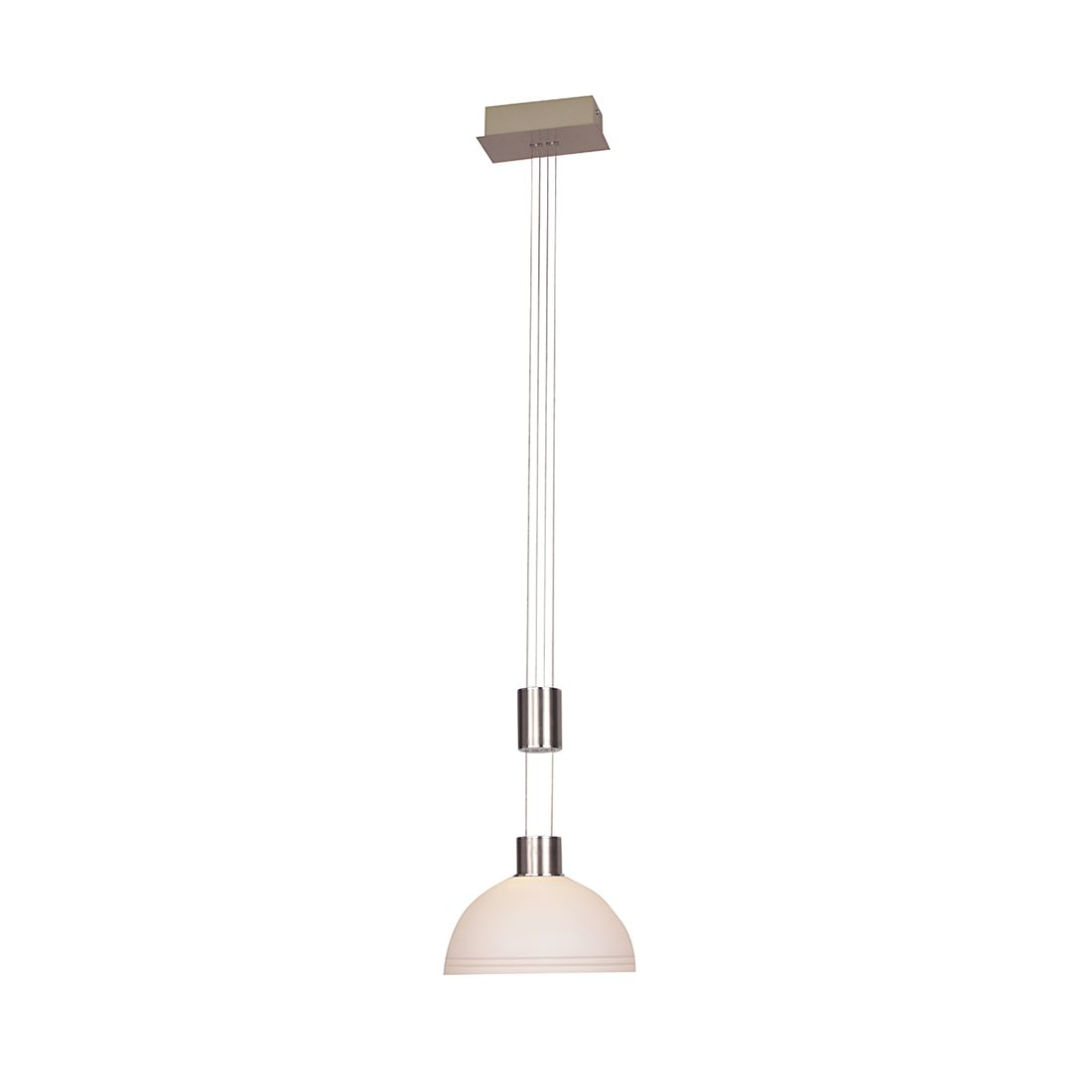 Pendelleuchte CLASS ● Metall/Glas ● 1-flammig- Lux A+