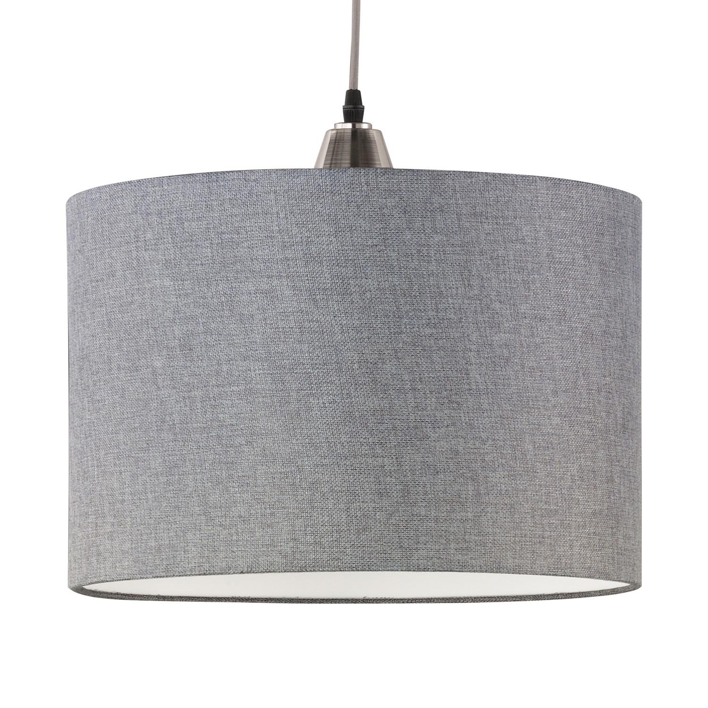 pendelleuchte cosinus metall stoff 1 flammig trio a g nstig bestellen. Black Bedroom Furniture Sets. Home Design Ideas