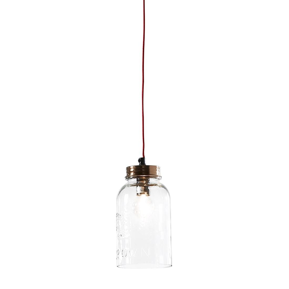 pendelleuchte crow by juli metall glas 1 flammig julia. Black Bedroom Furniture Sets. Home Design Ideas