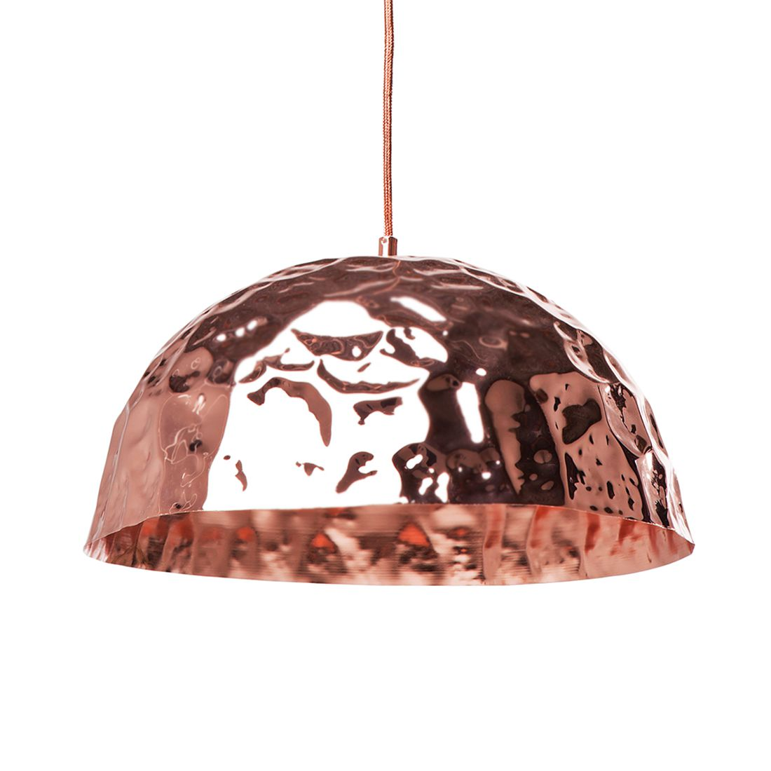 Pendelleuchte Crumble ● Metall ● Braun ● 1-flammig- Kare Design A++