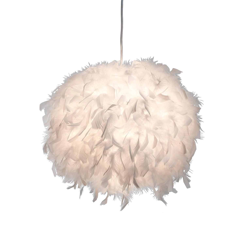 pendelleuchte ducky ii papier federn wei 1 flammig nino leuchten a g nstig online kaufen. Black Bedroom Furniture Sets. Home Design Ideas