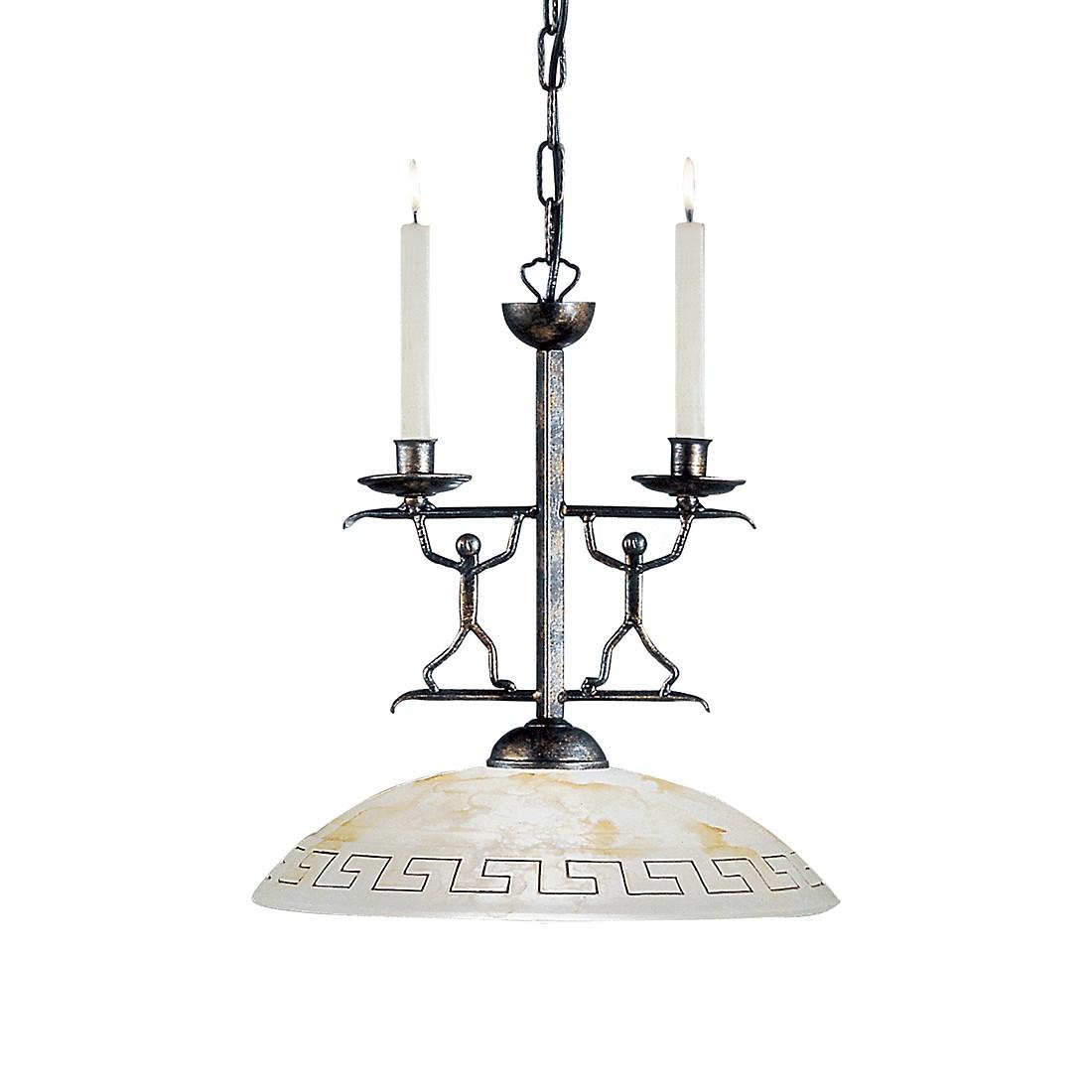 pendelleuchte ethno metall glas schwarz antik 1 flammig hans k gl a g nstig. Black Bedroom Furniture Sets. Home Design Ideas