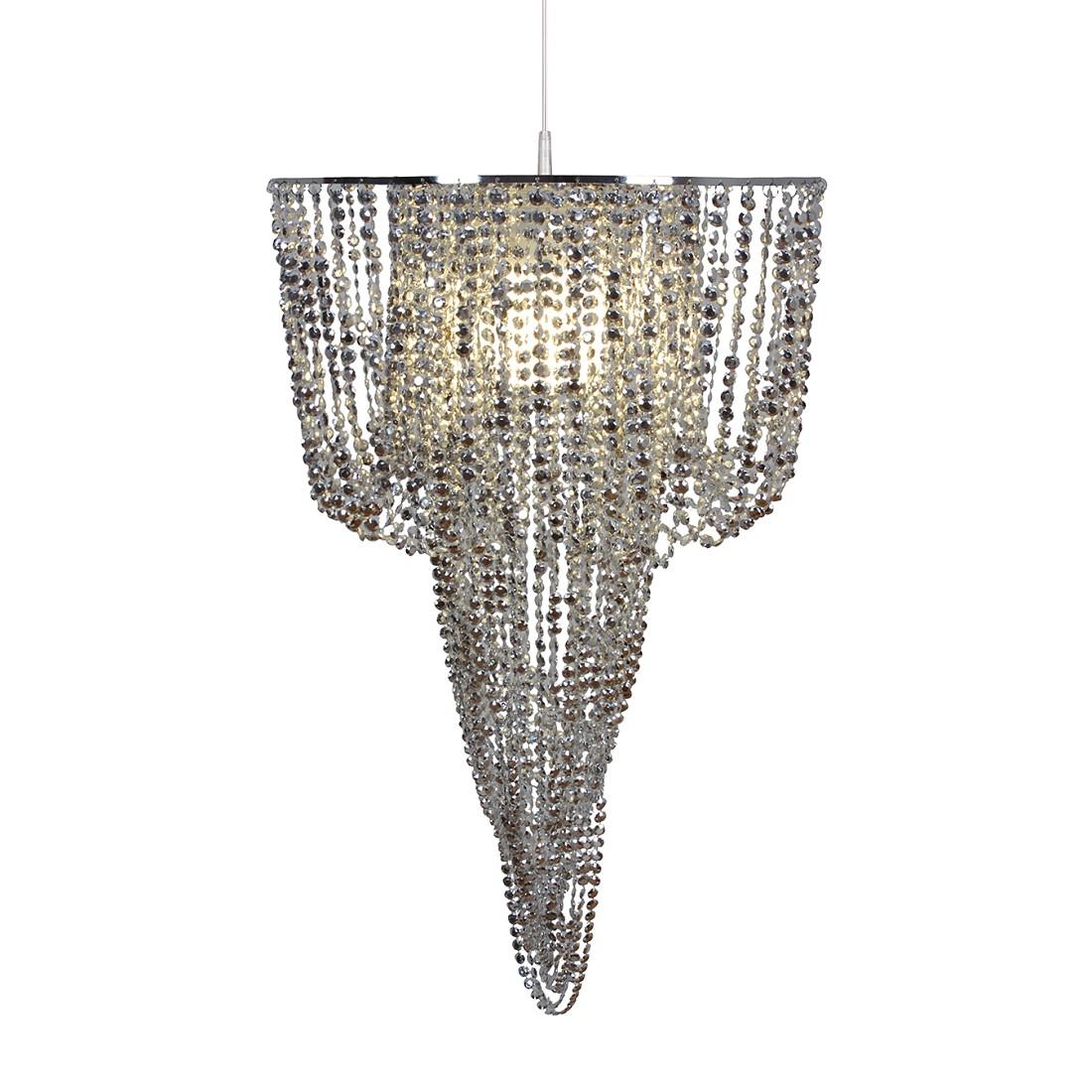 pendelleuchte fancy metall acryl silber 1 flammig n ve g nstig kaufen. Black Bedroom Furniture Sets. Home Design Ideas