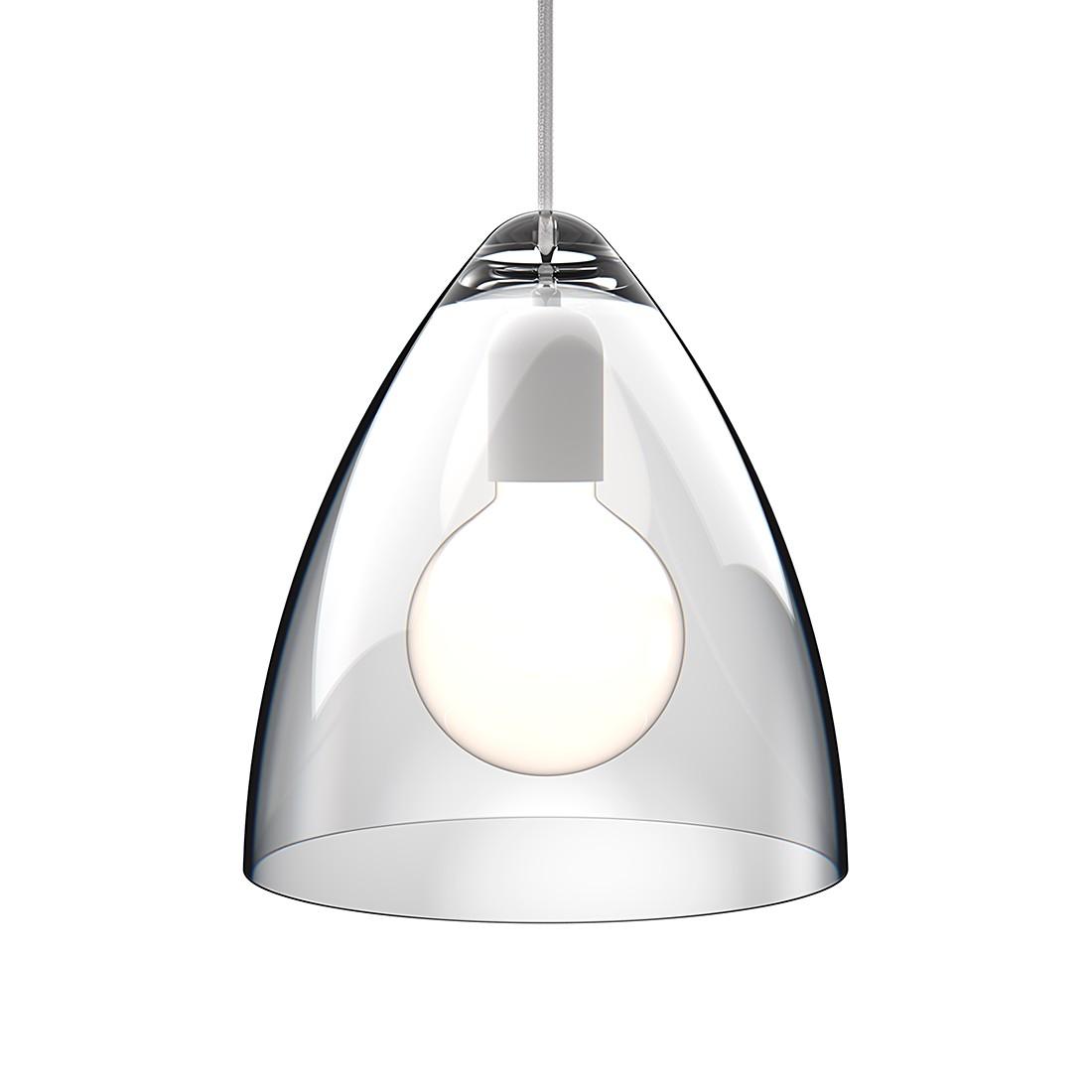 Pendelleuchte Funk ○ Acrylglas/Textil ○ Klar/Weiß ○ Durchmesser ...