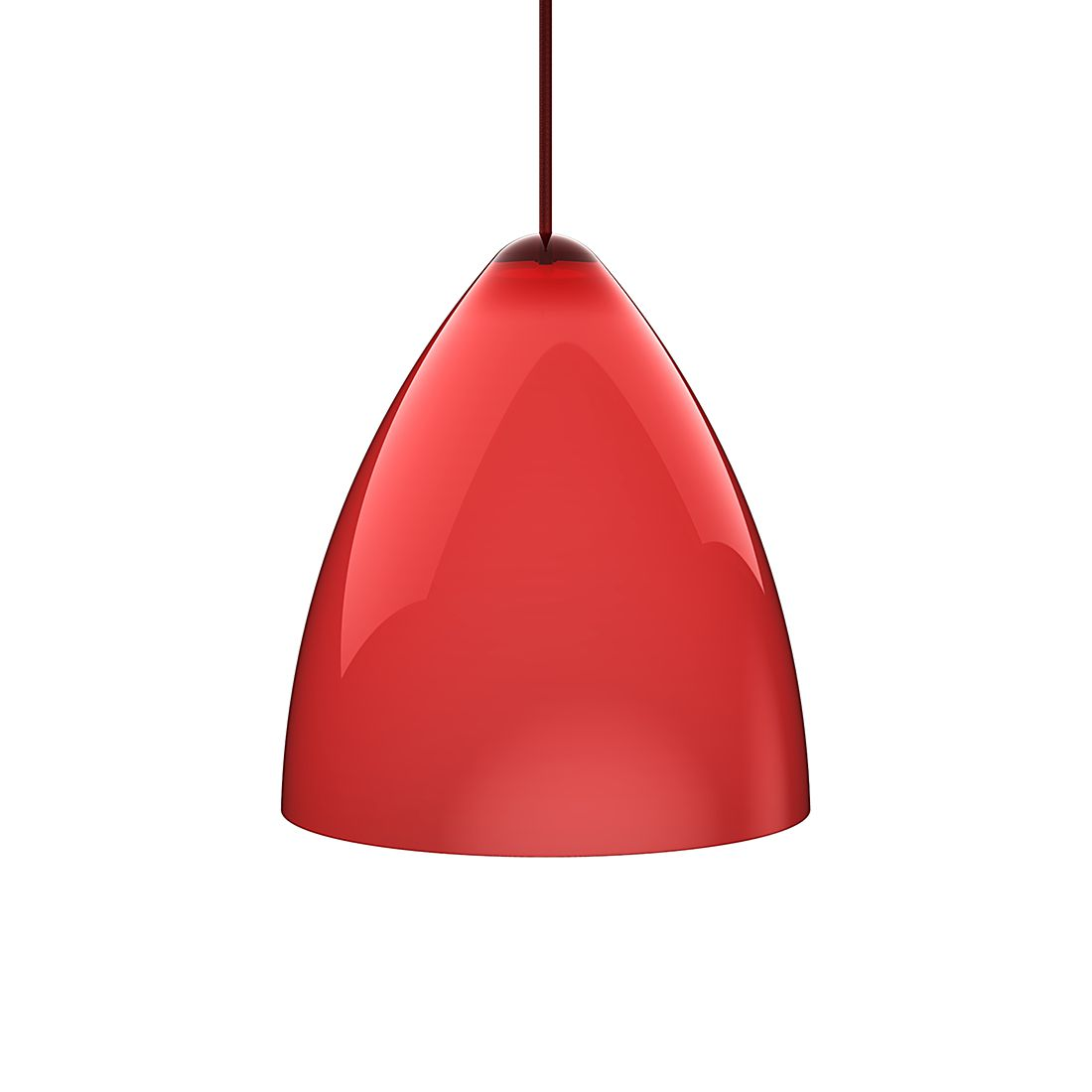 pendelleuchte funk acrylglas textil rot rot durchmesser 22 cm nordlux g nstig kaufen. Black Bedroom Furniture Sets. Home Design Ideas