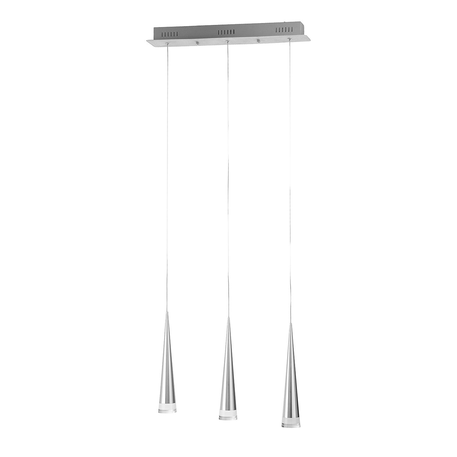 LED-Pendelleuchte Gota ● Aluminium ● Silber- Paul Neuhaus A+