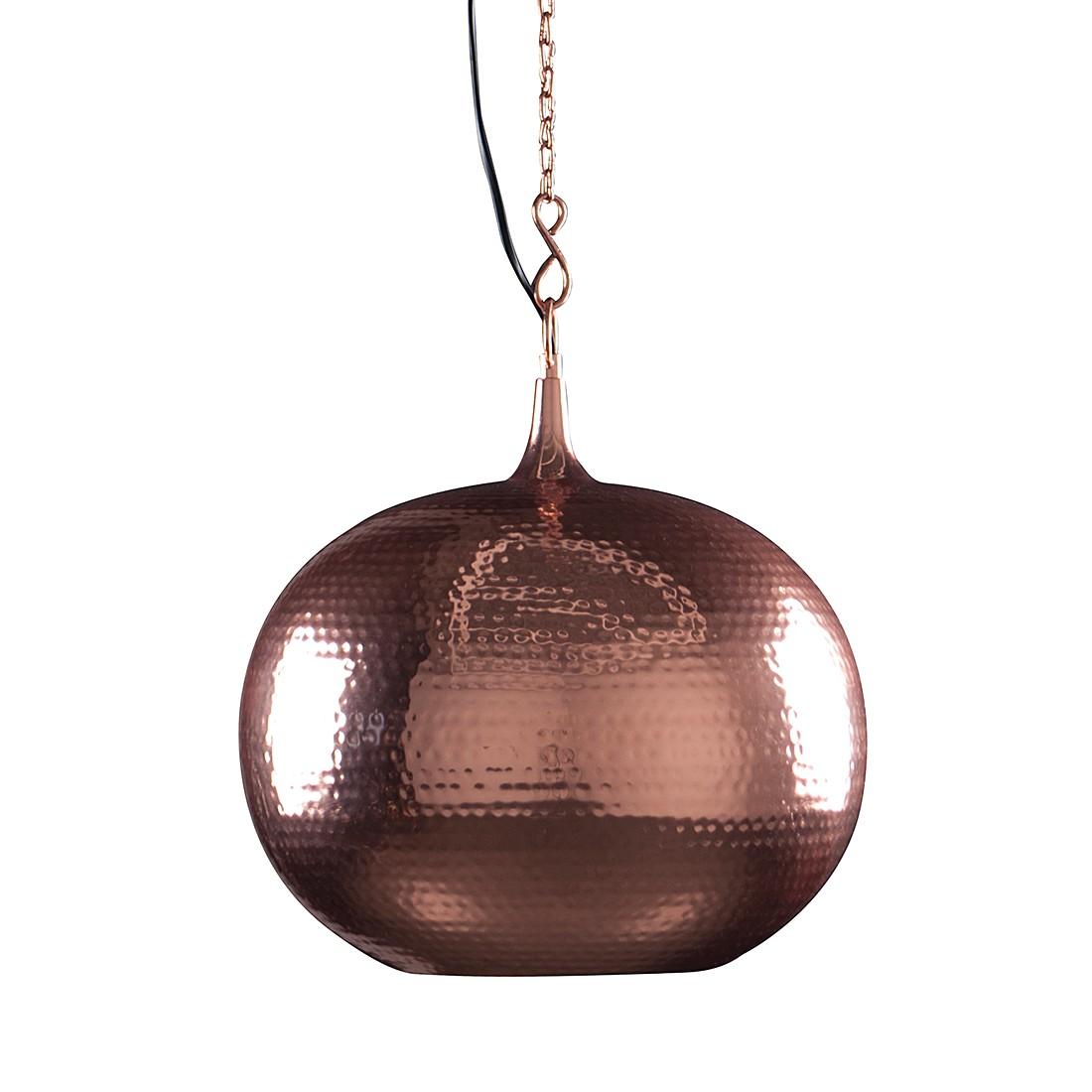 energie  A++, Ronde hanglamp Hamme - koperkleurig, Zuiver