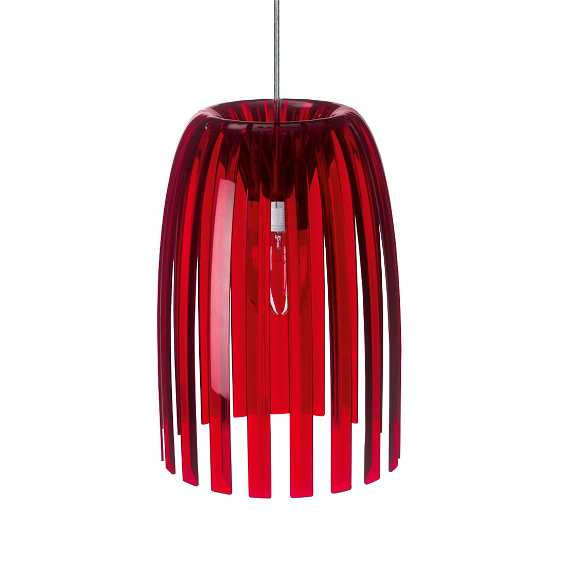 energie  A++, Hanglamp Josephine - rood - small, Koziol