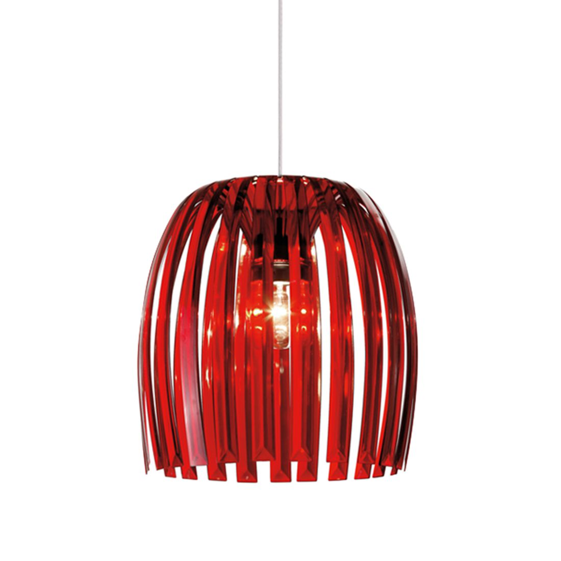 energie  A++, Hanglamp Josephine - rood - XL, Koziol