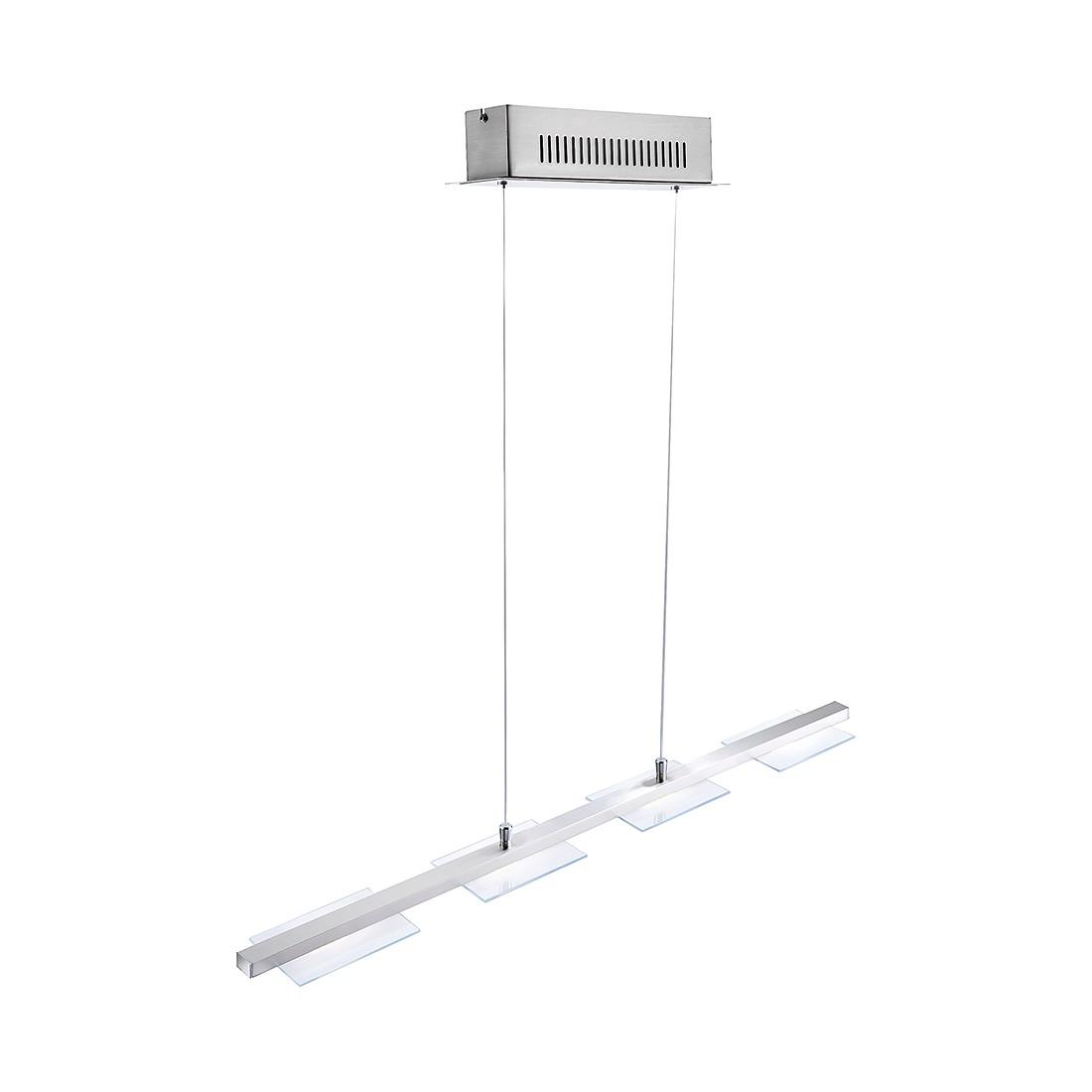 LED-Pendelleuchte Kamminke ● Nickel Matt ● Silber- FLI Leuchten A+