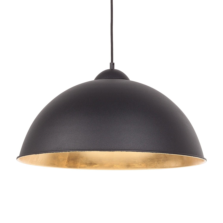 lux pendelleuchte schwarz gold leuchte wohnzimmer