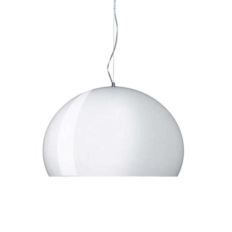 Pendelleuchte Sameras I ● Kunststoff ● Weiß ● 1-flammig- Lampadina A++