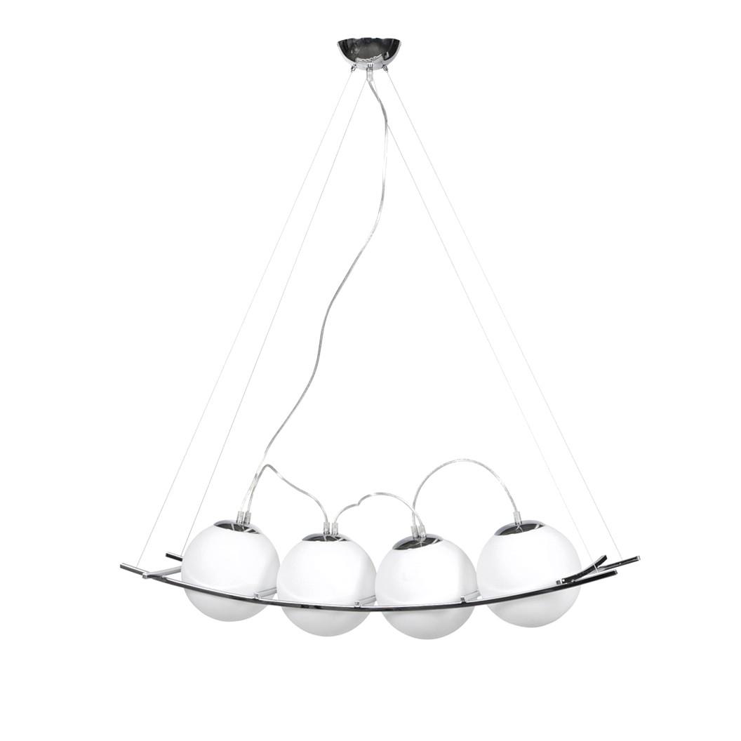 EEK A++, Pendelleuchte Lok – Glas Weiß, Kokoon kaufen