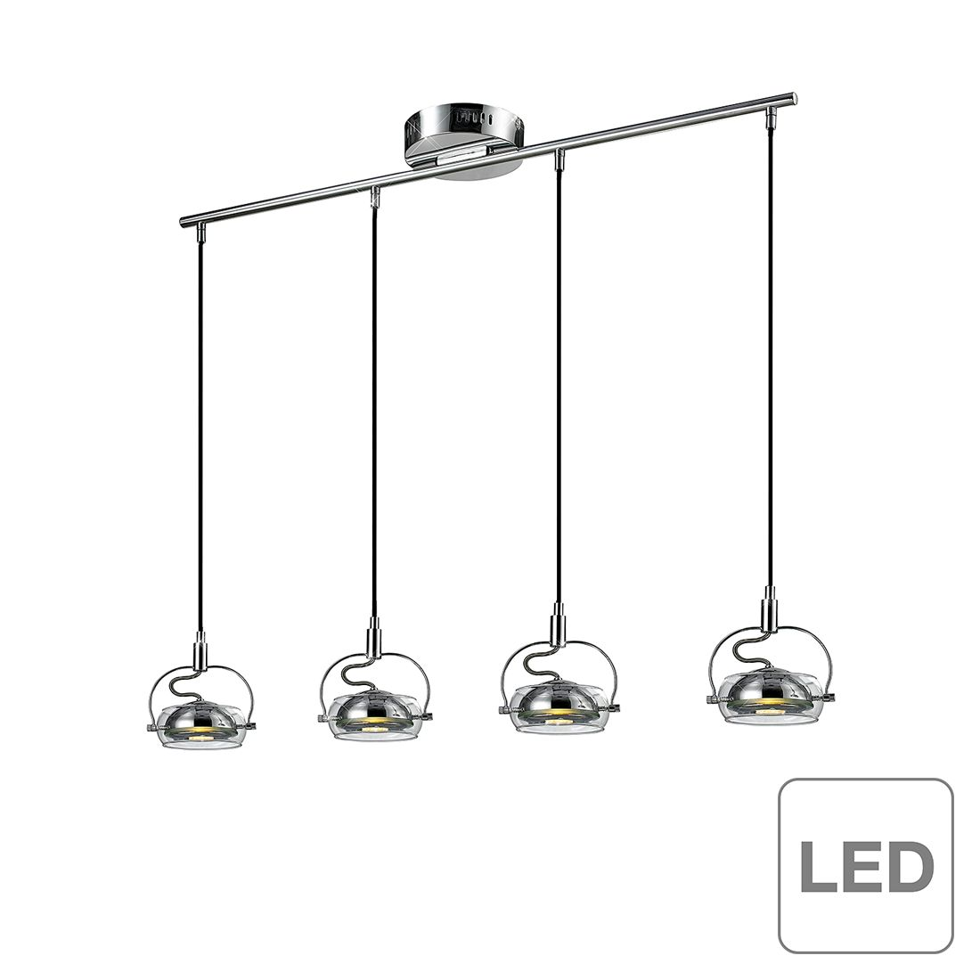 Pendelleuchte Luminee Led - 4-flammig, Esto