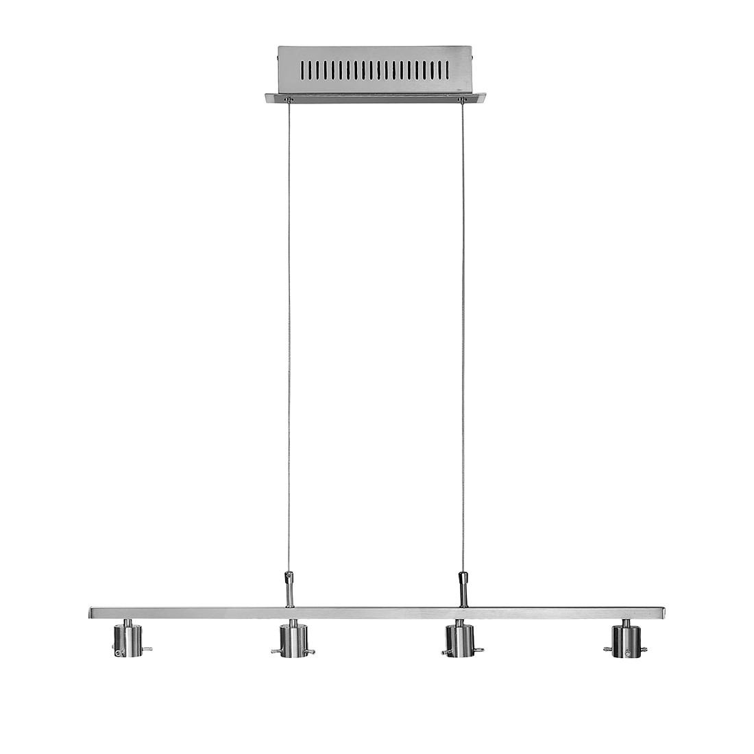 EEK A+, LED-Pendelleuchte o. Glas, 4-flg., Fischer Leuchten