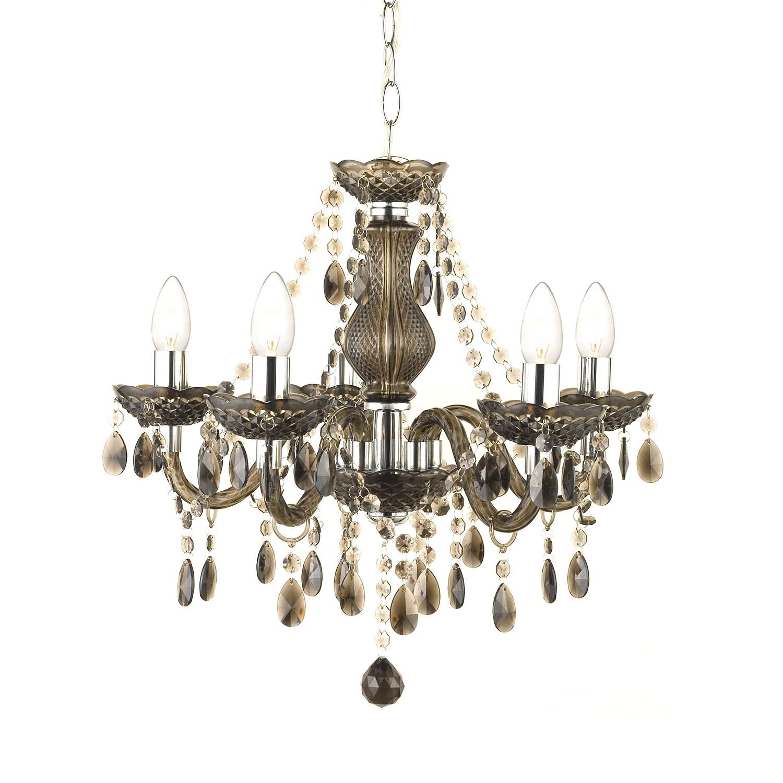 Pendelleuchte Marie II ● Kunststoff/Metall ● 5-flammig- Nino Leuchten A++