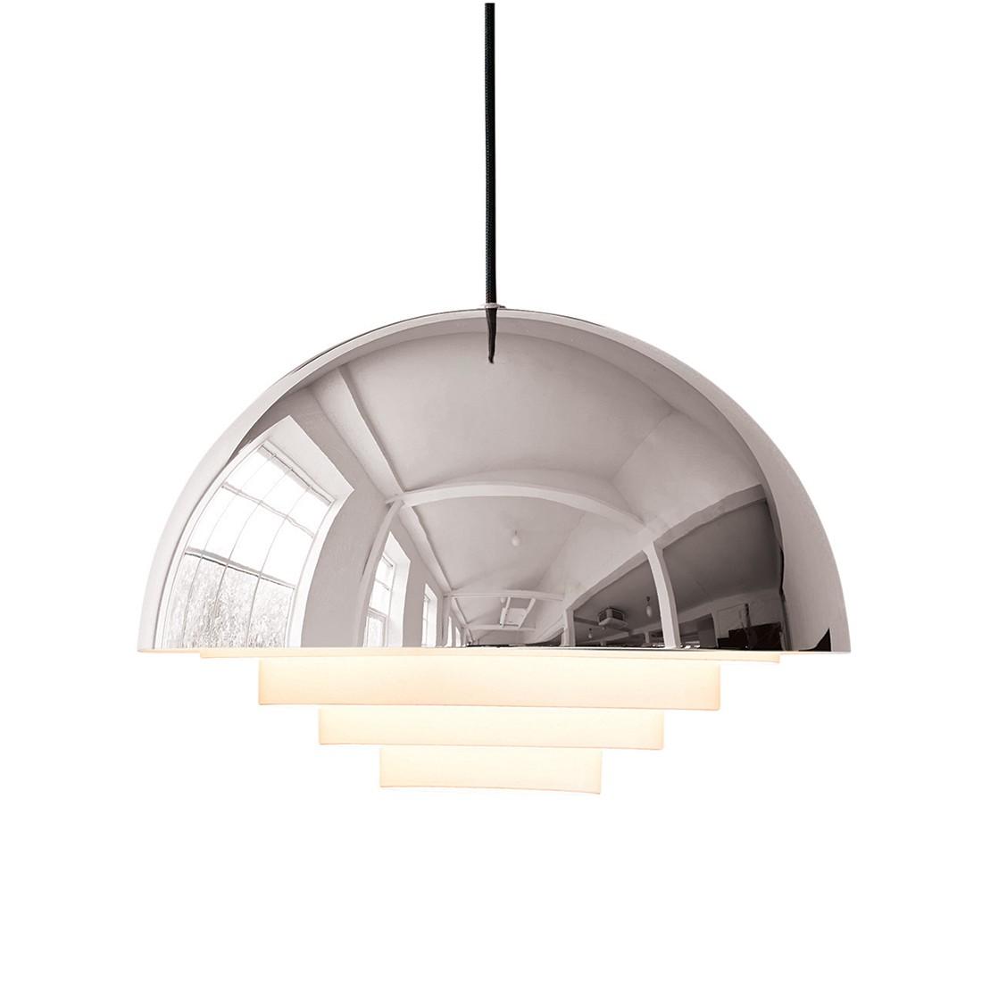 pendelleuchte motown metall silber 1 flammig herstal a online kaufen. Black Bedroom Furniture Sets. Home Design Ideas