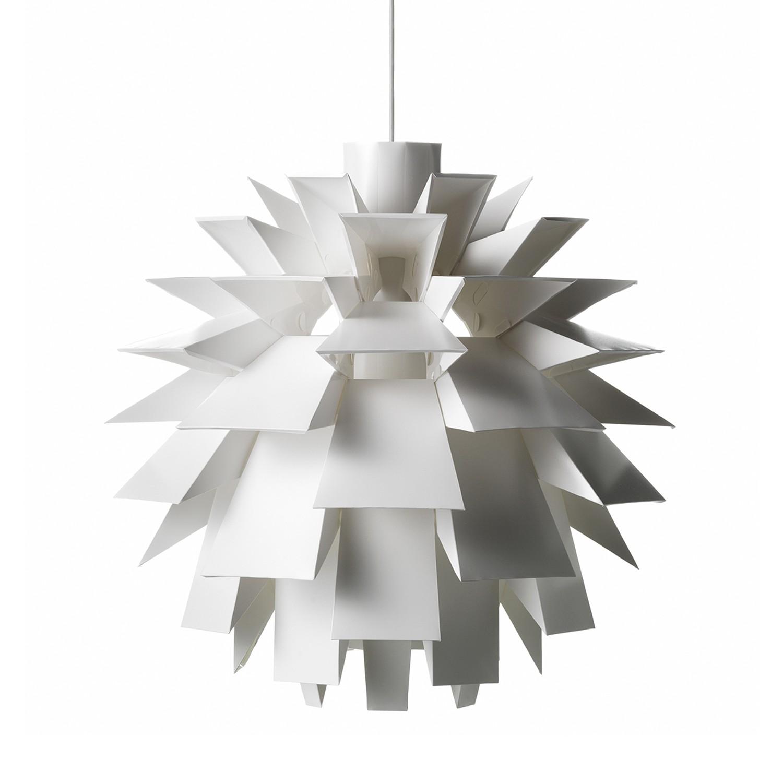 Pendelleuchte Norm 69 ● Kunststoff ● Weiß ● 60 cm- Normann Copenhagen