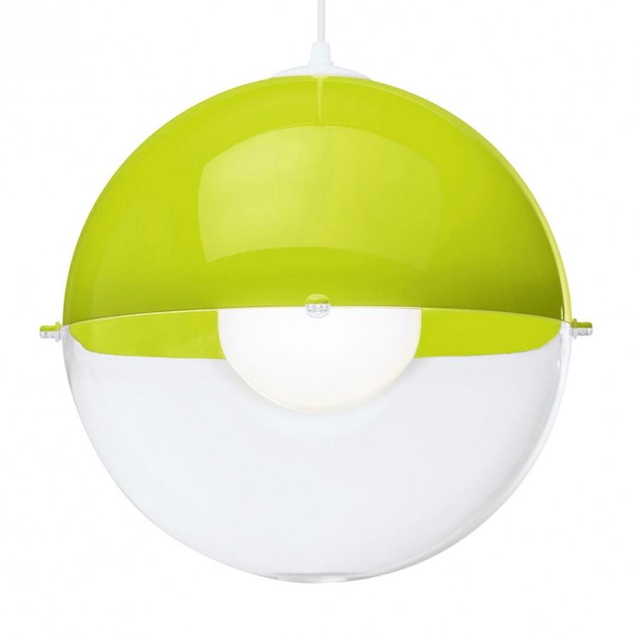 EEK A++, Pendelleuchte ORION – Kunststoff – Grün – 1-flammig, Koziol jetzt bestellen