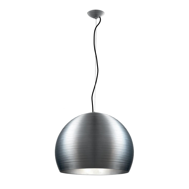 Pendelleuchte Pandora by Micron ● Aluminium ● Silber ● 5-flammig- Lampadina A++