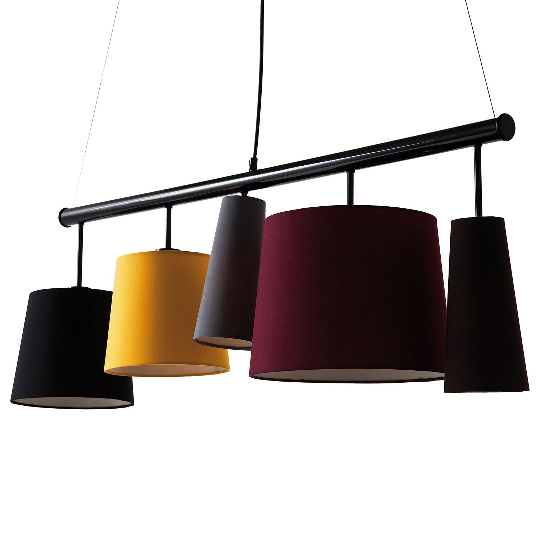 pendelleuchte parecchi metall 5 flammig kare design a online kaufen. Black Bedroom Furniture Sets. Home Design Ideas