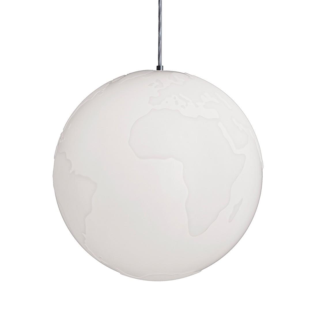EEK A++, Pendelleuchte Planet Earth – Weiß – 1-flammig, Formagenda günstig online kaufen